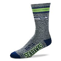 Adult For Bare Feet Seattle Seahawks Got Marbled Crew Socks