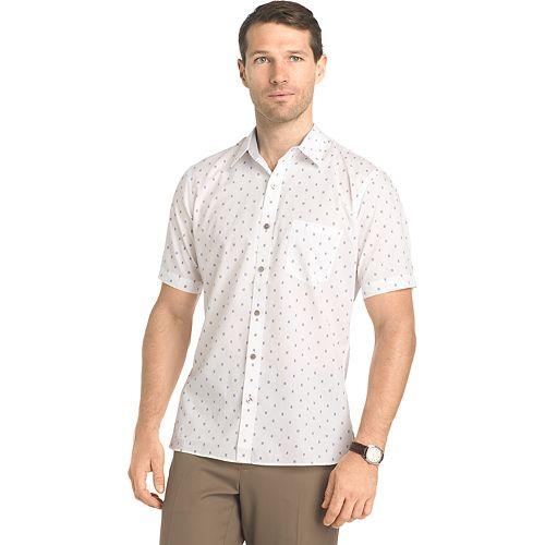 Van Heusen Slim-Fit Never Tuck Button-Down Shirt