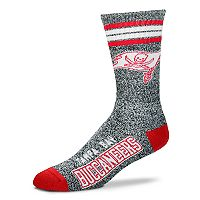 Adult For Bare Feet Tampa Bay Buccaneers Got Marbled Crew Socks