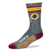 Adult For Bare Feet Washington Redskins Got Marbled Crew Socks