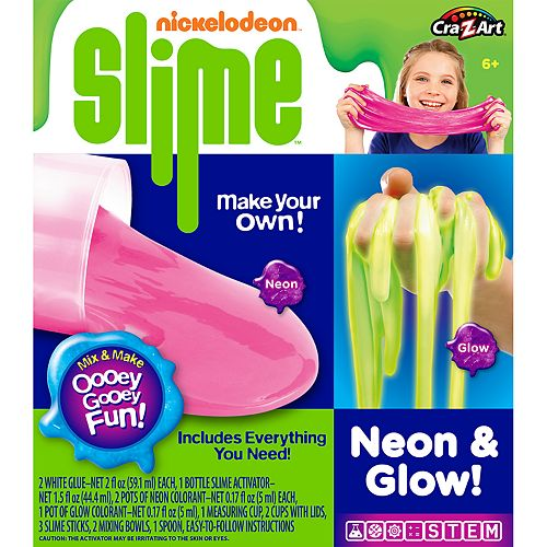Nickelodeon Slime- Make Your Own, Neon & Glow Slime!