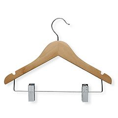 Kids Honey-Can-Do 10-pack Basic Hangers & Clips