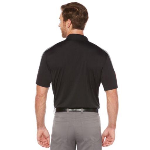 Men's Grand Slam Regular-Fit Heathered Driflow Performance Golf Polo