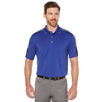 Men's Grand Slam Regular-Fit Heathered Driflow Performance Golf Polo