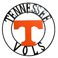 Tennessee Volunteers 18-Inch Wrought Iron Wall Décor