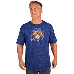 Men's Majestic New York Knicks All Real Tee