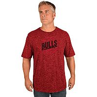 Men's Majestic Chicago Bulls All Real Tee