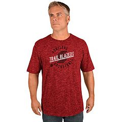 Men's Majestic Portland Trail Blazers All Real Tee