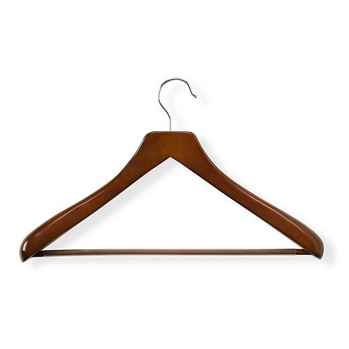 Honey-Can-Do Deluxe Contoured Suit Hanger