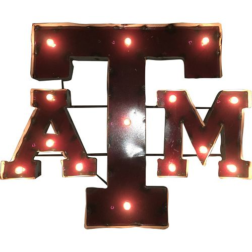 Texas A&M Aggies Light-Up Letter Wall Décor