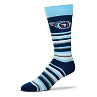 Adult For Bare Feet Tennessee Titans Muchas Rayas Crew Socks