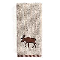 St. Nicholas Square® Through the Woods Moose Hand Towel