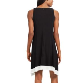 Women's Chaps Shark-Bite A-Line Dress