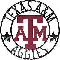 Texas A&M Aggies 18-Inch Wrought Iron Wall Décor
