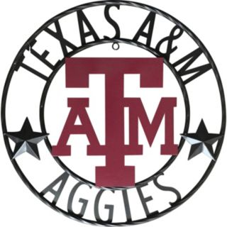 Texas A&M Aggies 18-Inch Wrought Iron Wall Décor