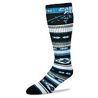 Adult For Bare Feet Carolina Panthers Tailgater Crew Socks