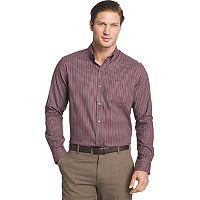Men's Van Heusen Regular-Fit Herringbone Stretch Button-Down Shirt