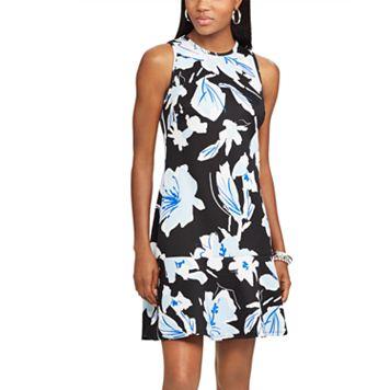 Women's Chaps Floral Scuba Fit & Flare Dress