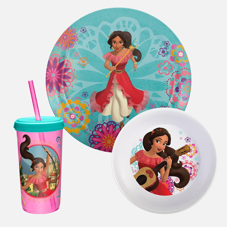 Disneyu0027s Elena of Avalor 3-pc. Dinnerware Set by Zak Designs  sc 1 st  Kohlu0027s & Disneyu0027s Elena of Avalor 3-pc. Dinnerware Set by Zak Designs   null