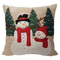 St. Nicholas Square® Snowman Throw Pillow