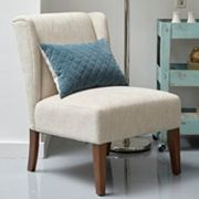 Pulaski Armless Wing Back Accent Chair