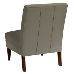 Pulaski Armless Button Back Accent Chair