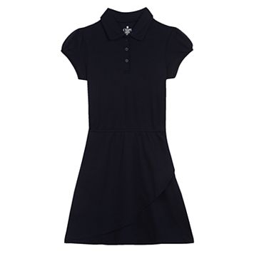 Girls 7-16 Chaps Short Sleeve Polo Dress