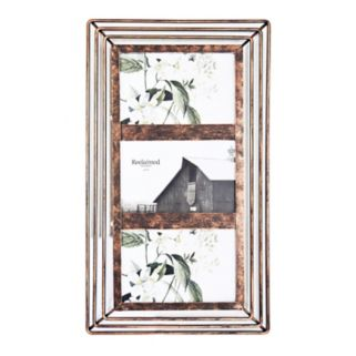 New View Farmhouse Bronze Finish 3-Opening Collage Frame