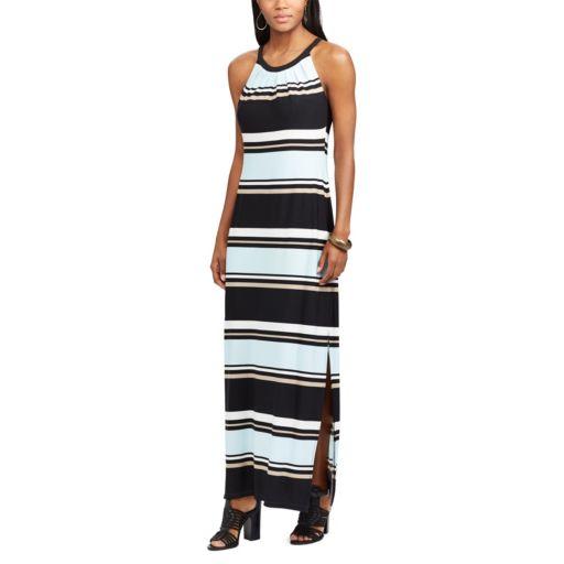 Women's Chaps Striped Maxi Dress