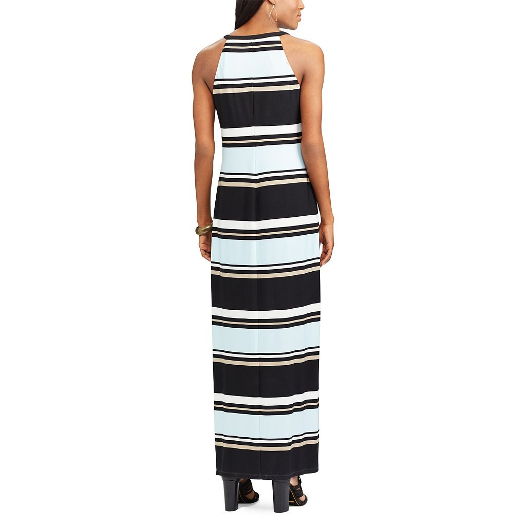 Women's Chaps Striped Maxi Dress