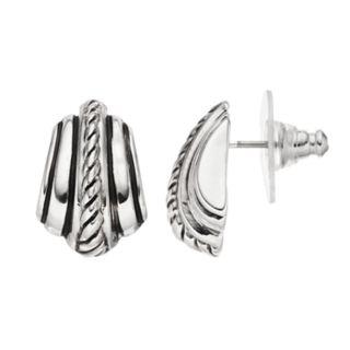 Dana Buchman Textured Stud Earrings