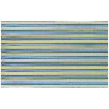 Couristan Bar Harbor Lollipop Striped Reversible Cotton Rug