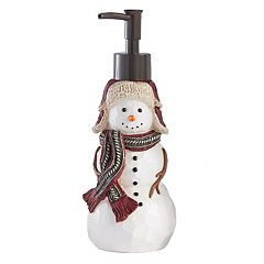 St. Nicholas Square® Through the Woods Snowman Soap Pump