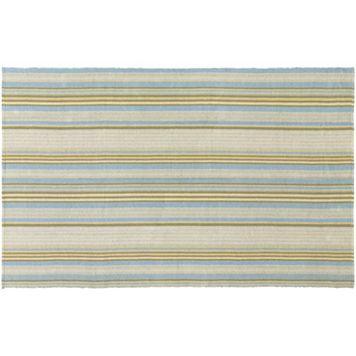 Couristan Bar Harbor Gelato Striped Reversible Cotton Rug