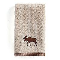 St. Nicholas Square® Through the Woods Moose Fingertip Towel