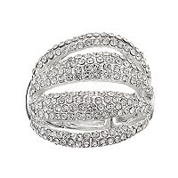 Jennifer Lopez Pave Multi Row Stretch Ring