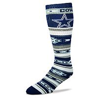 Adult For Bare Feet Dallas Cowboys Tailgater Crew Socks