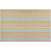 Couristan Bar Harbor Popsicle Striped Reversible Cotton Rug