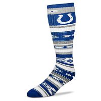 Adult For Bare Feet Indianapolis Colts Tailgater Crew Socks