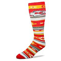 Adult For Bare Feet Kansas City Chiefs Tailgater Crew Socks