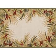 Couristan Covington Tropic Gardens Floral Indoor Outdoor Rug