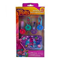 Girls DreamWorks Trolls 4-pk. Nail Polish & Carrying Tin Set