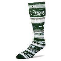 Adult For Bare Feet New York Jets Tailgater Crew Socks