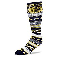 Adult For Bare Feet Pittsburgh Steelers Tailgater Crew Socks