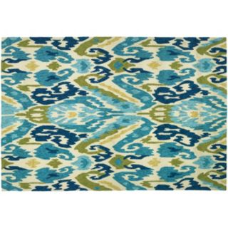 Couristan Covington Delfina Ikat Indoor Outdoor Rug