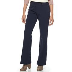 Juniors' Joe B Navy Bootcut Dress Pants