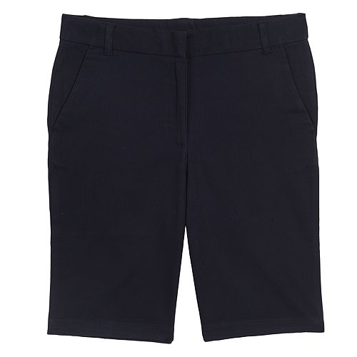 Girls Plus Size Chaps Stretch Bermuda Shorts