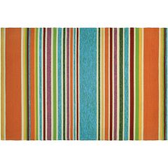 Couristan Covington Sherbet Striped Indoor Outdoor Rug