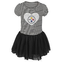 Toddler Pittsburgh Steelers Celebration Tutu Dress