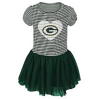 Toddler Green Bay Packers Celebration Tutu Dress